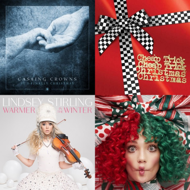 Lindsey Stirling Christmas Album.Four New Christmas Album Releases 2017 E D
