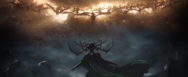 Hela vs. the Valkyrie