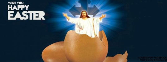 Jesus Easter Egg